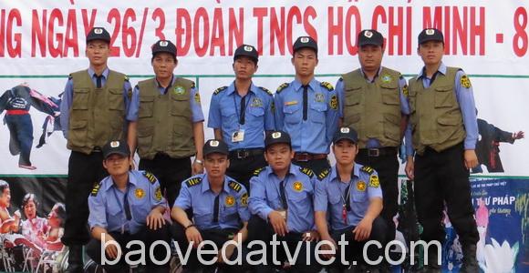 dịch vụ bảo vệ sự kiện tại bình dương
