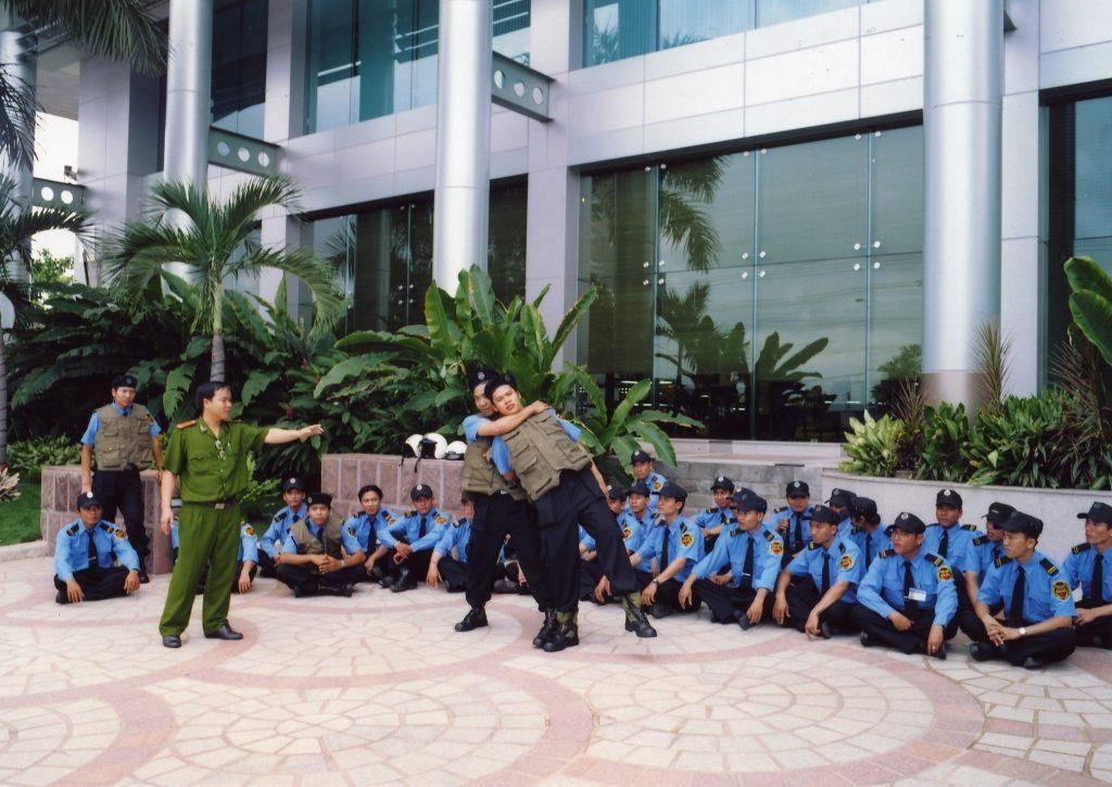 đào tạo công tác bảo vệ