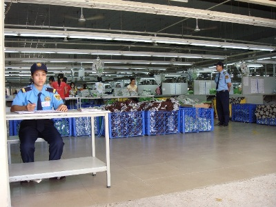dịch vụ bảo vệ kho hàng uy tín chất lượng